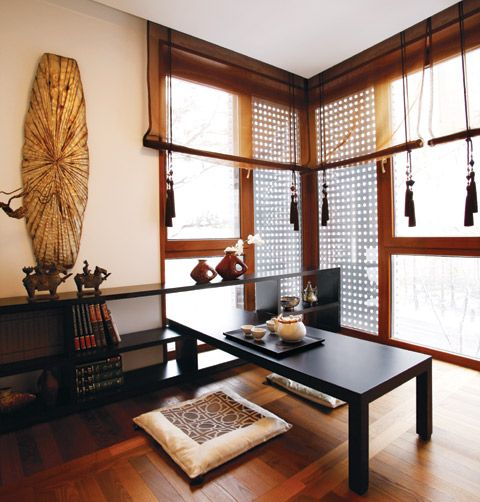 Korean style decor for 'Neo-Cocooning'