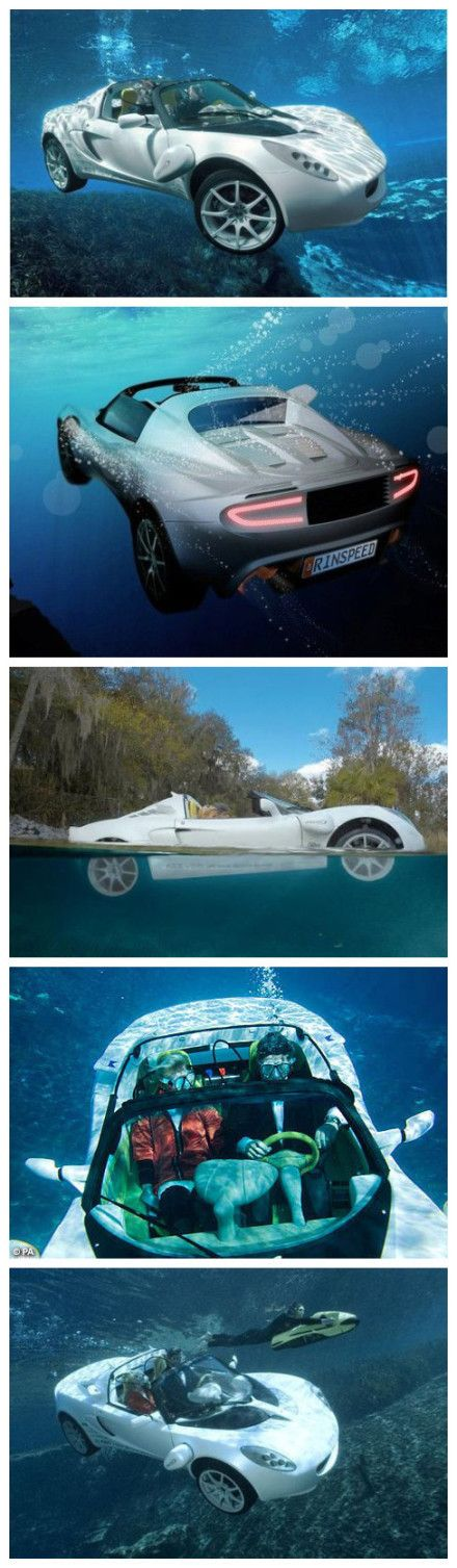 Diving sports car - OMG yes!!!!seriously?!