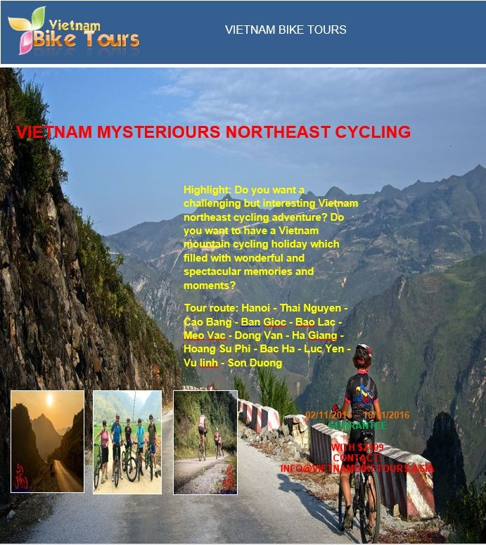 Do you want a challenging but interesting Vietnam northeast cycling adventure? Do you want to have a Vietnam mountain cycling holiday which filled with wonderful and spectacular memories and moments?