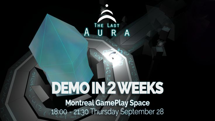 Come playtest The Last Aura at Montreal's Gameplay Space! http://leylinegames.com/2017/09/14/demo-2-weeks/ #indiedev #gamedev #indiegame #gaming #gameplay #videogame