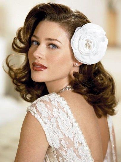 Acconciatura sposa anni 50 hairstyle vintage