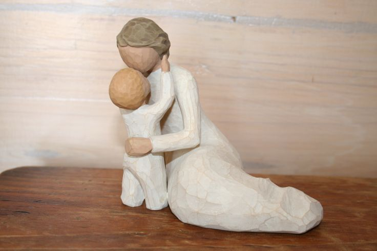 "Willow Tree ""Child's touch"".  A touching moment to remember.  Price: A$42.95. Willow Tree statues are SAFE to POST. from Toodle-Doo-Settler-Bears-Australia  SHIP WORLDWIDE Email: mailto:toodledoo@bigpond.com www.settlerbearsaustralia.com.au,  Mobile: 0433 253 800  Toodle Doo - the MAGIC place to shop!"