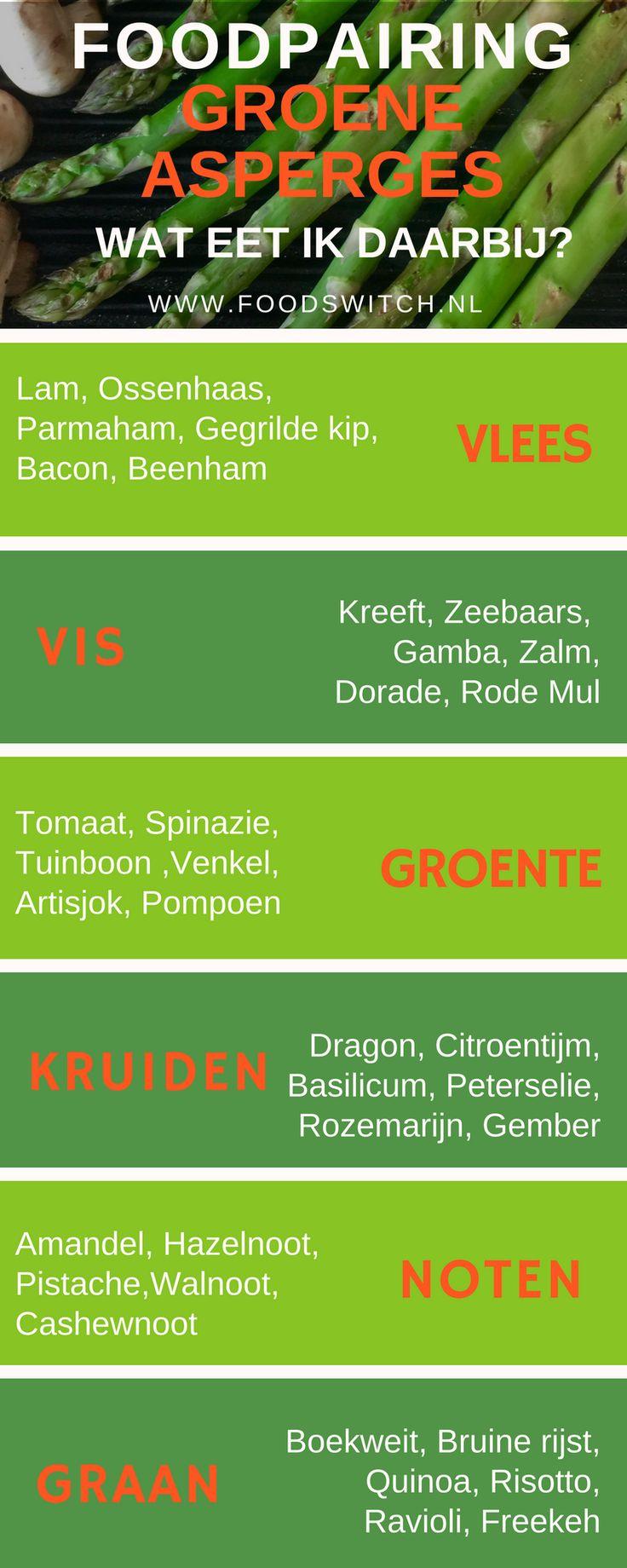 Wat kan je eten bij groene asperges? Genoeg verassende combinaties.