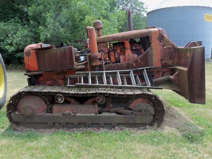 Heavy Equipment Frames : Best images about allis chalmers crawlers bulldozers on
