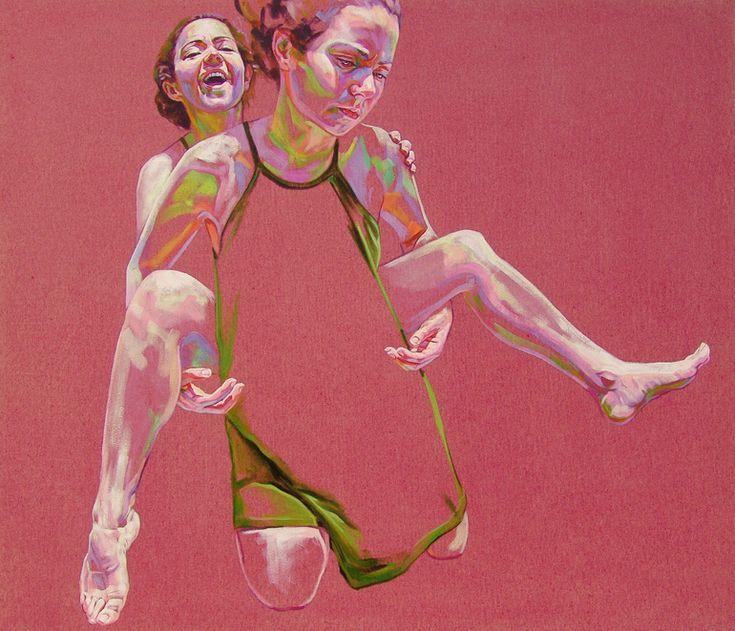 "Saatchi Art Artist: Cristina Troufa; Acrylic 2013 Painting """"Promise"""""