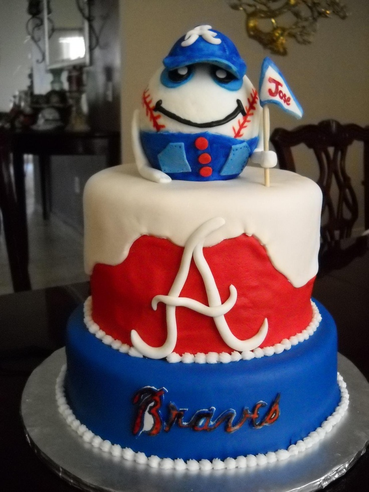 Atlanta Braves wedding cake - Google Search