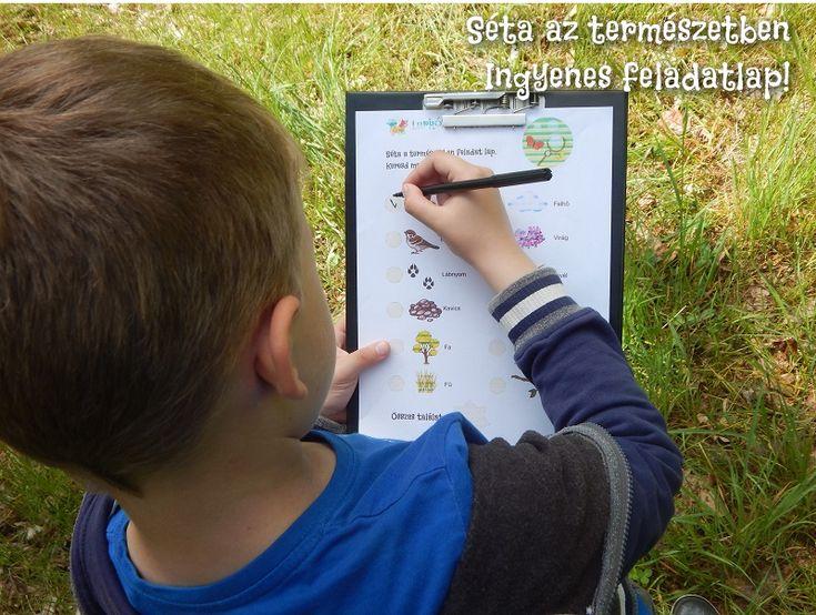 Séta az erdőben - ingyenes letöltéssel! - Lurkovarázs.hu - Kreatív feladatok gyerekeknek