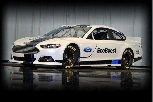 nascar cars | 2013 Ford Fusion NASCAR Sprint Cup Race Car Unveiled