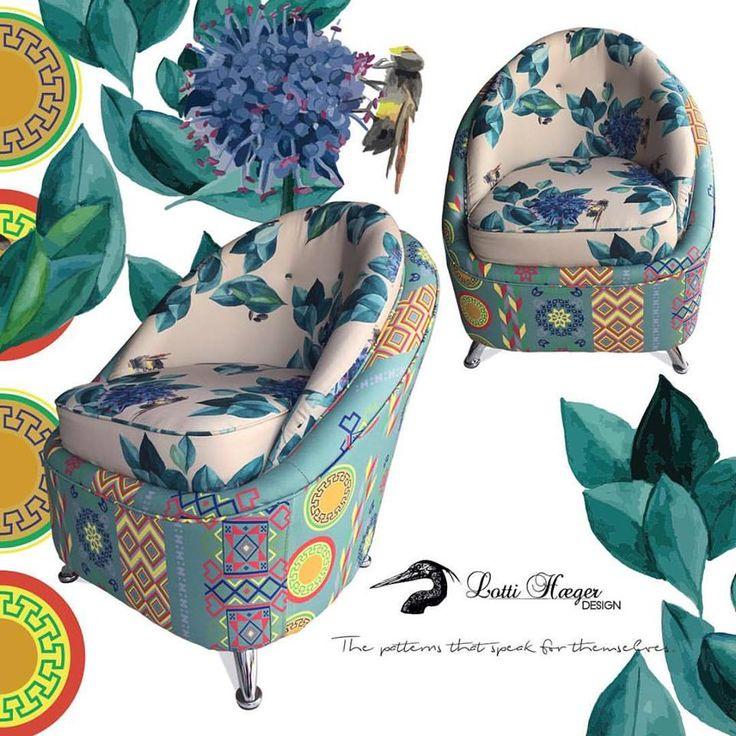 Colección Mónica silla RETRO1960's info lotti@lottihaeger.com/ collection Mónica chair RETRO1960's info lotti@lottihaeger.com #lottihaeger#arquitectura #architecture #art #flowers #pattern #colorful #colour #color #textiles #fabric #inredning #design #designer #decoration #cotton #decorating #chair #decor #furniture #print #homedecor #homedesign #palettes