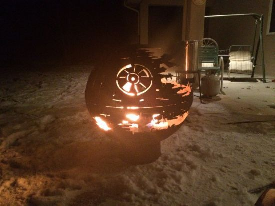 Death Star Feuerfass