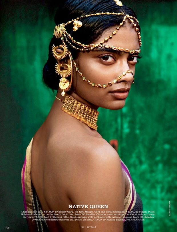 Elle India Editorial by Tarun Vishwa | Couture Rani