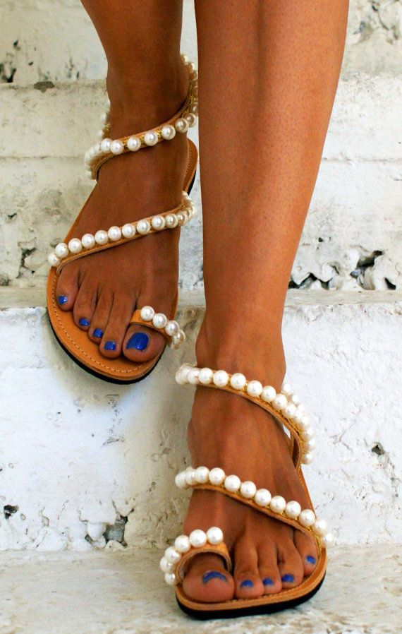 Luxurious Sandals/ Wedding Sandals/ Bridal Sandals/ by magosisters