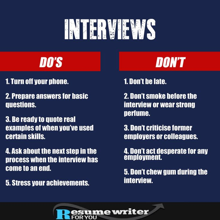 118 best Interview Tips images on Pinterest Design resume, Job - resume dos and donts