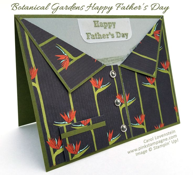 """Botantical Gardens Happy Father's Day 