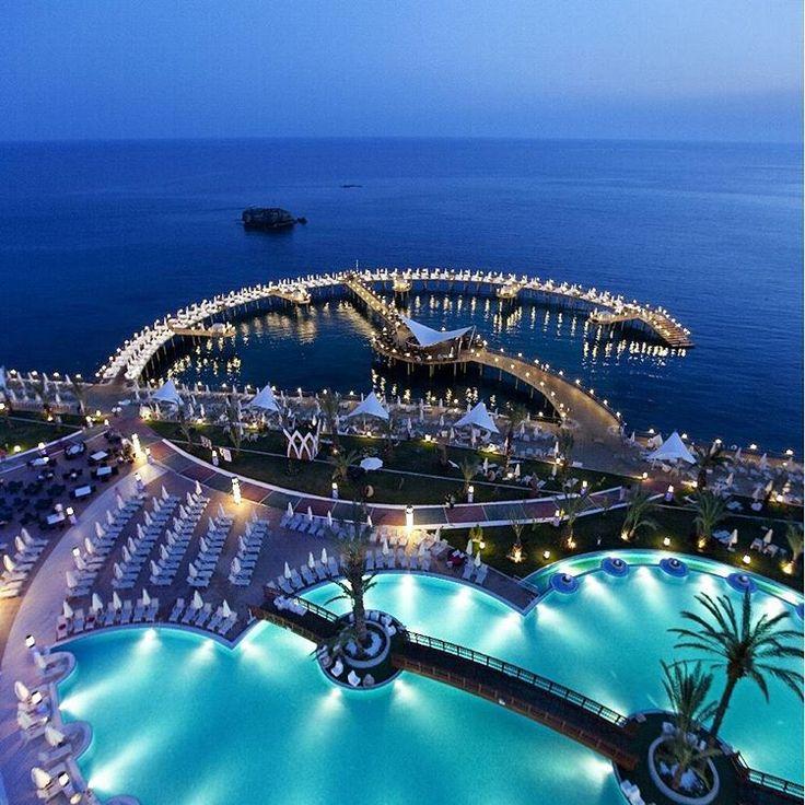 """Granada Luxury Resort & Spa in Alanya, Turkey courtesy of @fashionairy."""