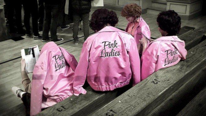 pink ladies grease live