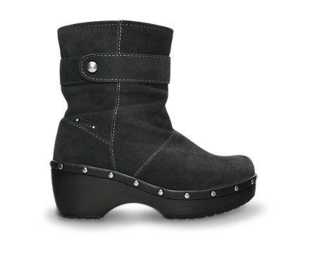 Women's Crocs Cobbler Studded Ankle Boot | Lederen laarzen voor dames | Officiële Crocs website