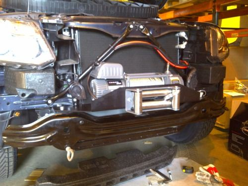 Winch Reviews - Electric Winches, 4x4 Equipment an, VW Amarok Winch Conversion by the Electric Winch...