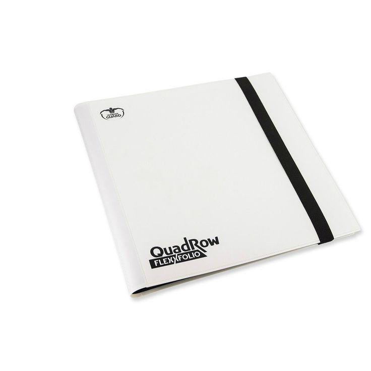 Ultimate Guard QuadRow FlexxFolio White
