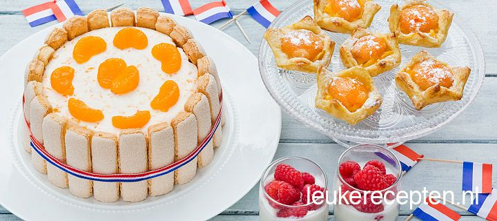 In het kader van Koningsdag: oranje recepten