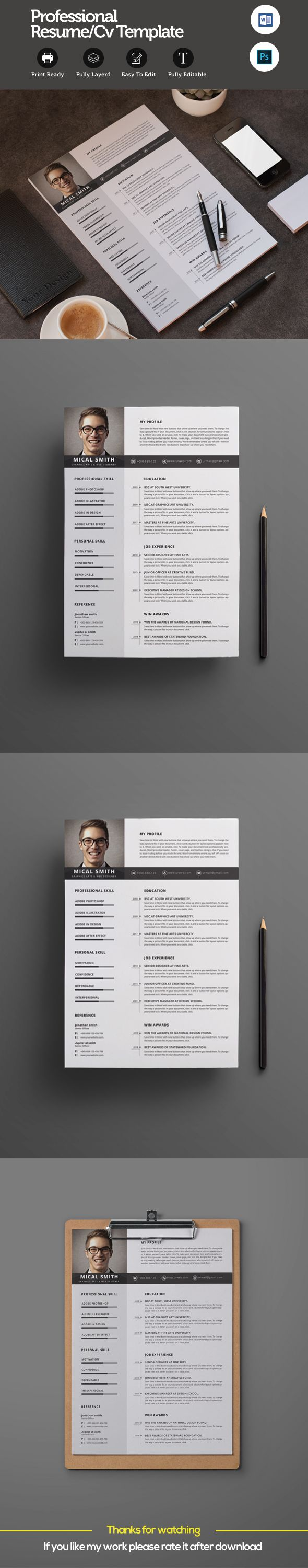 Resume on Behance 19 best Stationery items