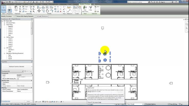 Revit design options best practices
