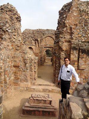 मेरी यात्रा डायरी : महरौली पुरातत्विक उद्यान : बलबन का मकबरा, दिल्ली  ...