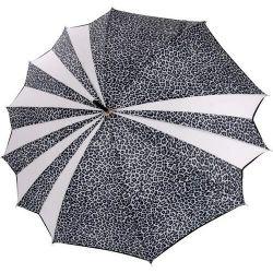 Parapluie original Freedom Léopard blanc Texier