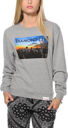 Diamond Supply Co. Diamond Life NY Crew Neck