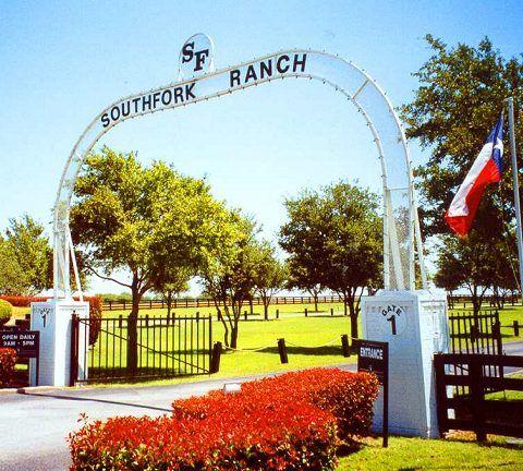 """Dallas"" and the Southfork Ranch"