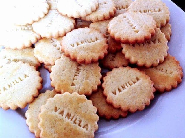 Ein Löffel Salz: Vanilla cookies