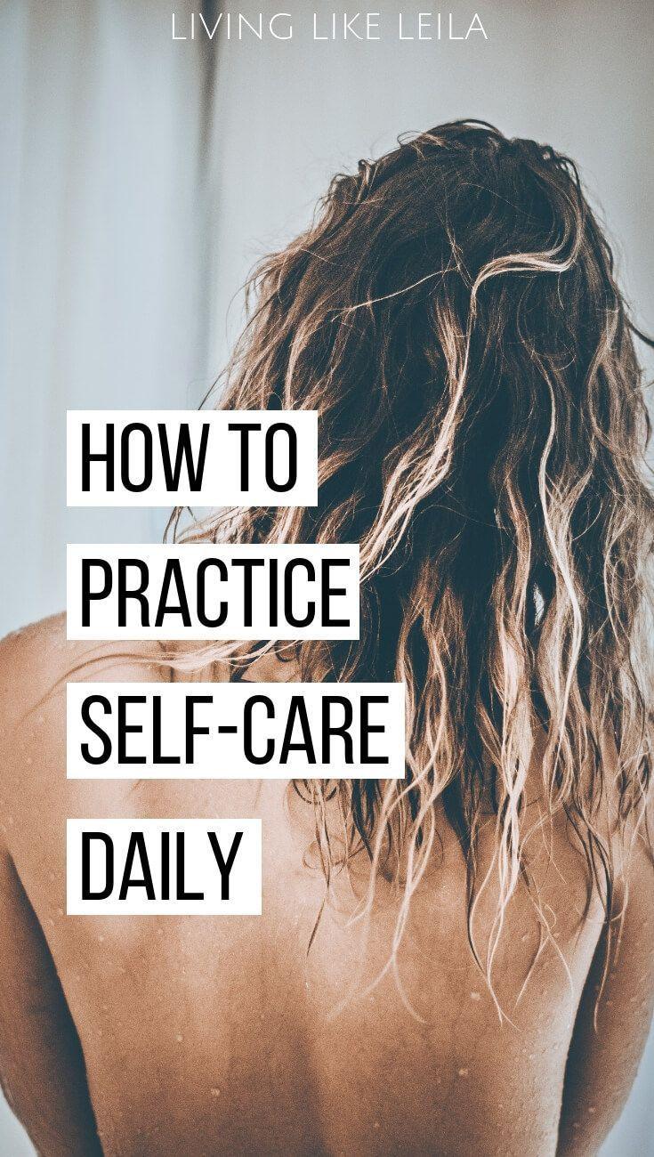 Tägliches Üben der Selbstpflege ist einfacher als es sich anhört. Drehen Sie diese einfachen Übungen …   – Self care