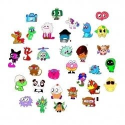moshi monsters moshlings coloring pages are free and super fun to print and color you