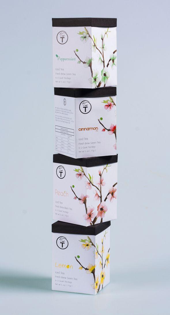 Стильная упаковка для чая