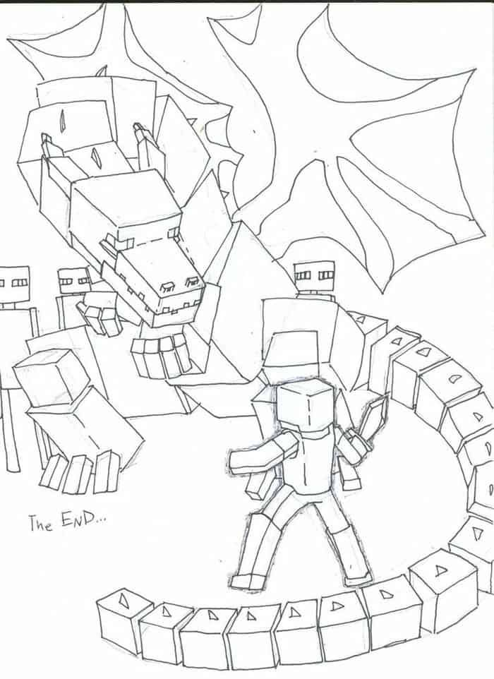 Minecraft Dragon Coloring Pages Dragon Coloring Page Minecraft Coloring Pages Unicorn Coloring Pages