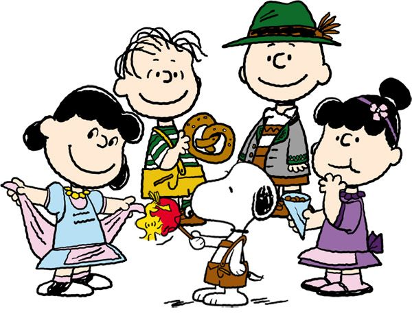 """Peanuts Oktoberfest"" Really? o_O ...I think they may be a little young for this"