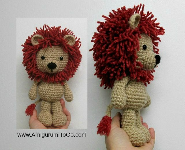 Little Amigurumi Lion : Best 20+ Crochet Lion ideas on Pinterest Crochet animals ...