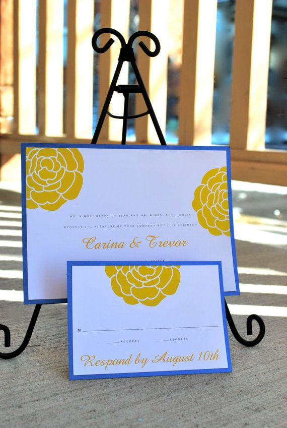 ARLINGTON Wedding invitation set digital files by