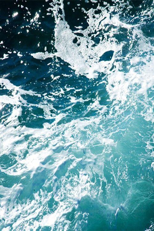 """deletingmyself: """"Dark Turquoise Ocean Wave (by 3foot6)"""""""
