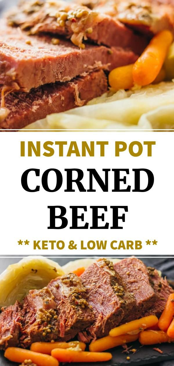 Corned Beef Has Never Been Easier Or Faster Try This Low Carb And