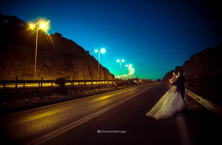 Wedding night of the highway