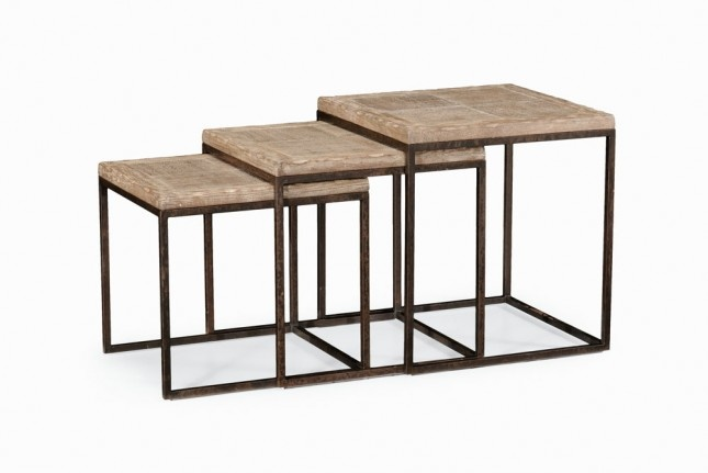 Limed Oak Nest Of Tables Images.  Images About Wood Finishes