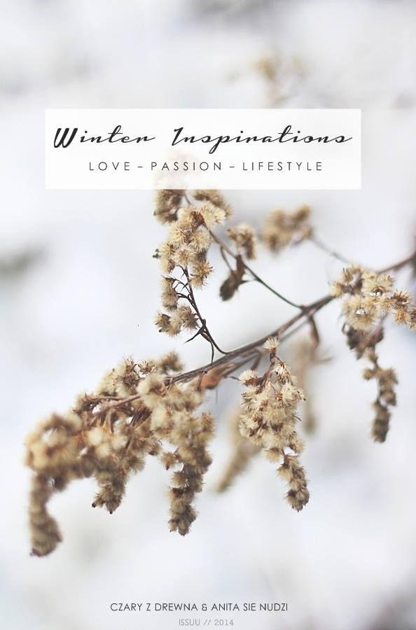winter emotions ISSUE by anita sie nudzi &Czary z Drewna http://issuu.com/czaryzdrewna/docs/winter_inspirations