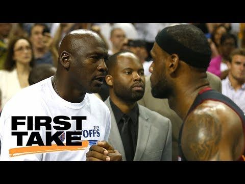 LeBron James replacing Michael Jordan as inspiration to young players? | First Take | ESPN - YouTube