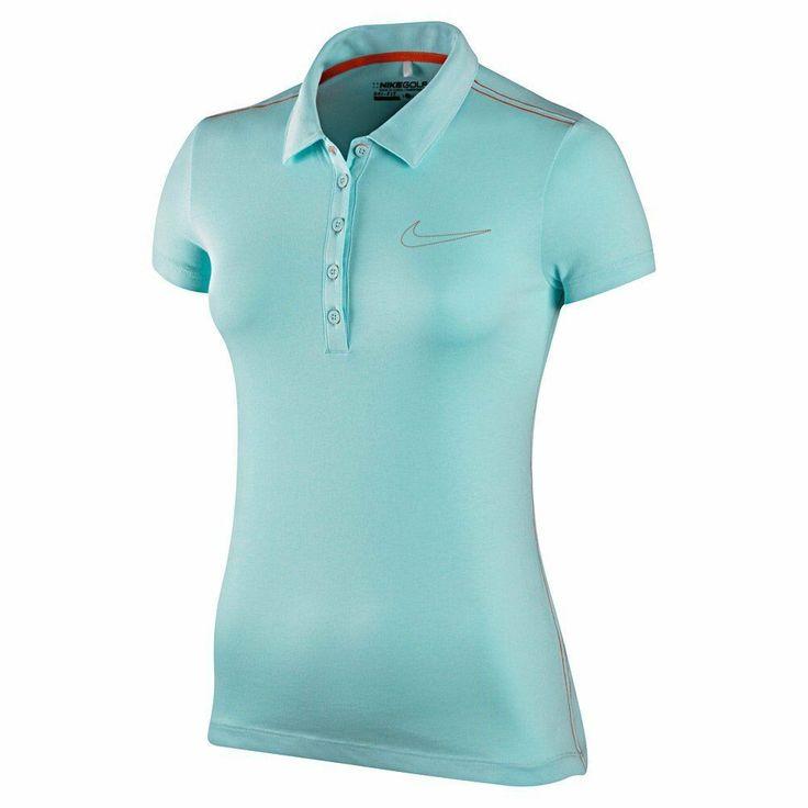 Nike golf womens novelty sport jersey polo shirt dri fit