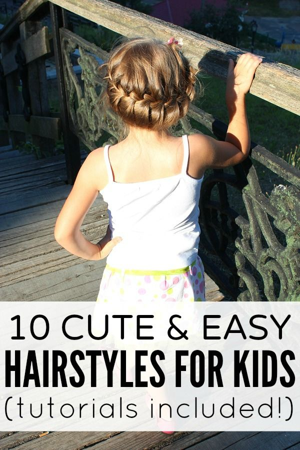 sick of sending your kids to school with the same old pigtails and ponytails? here are 10 cute and easy hairstyles for kids.