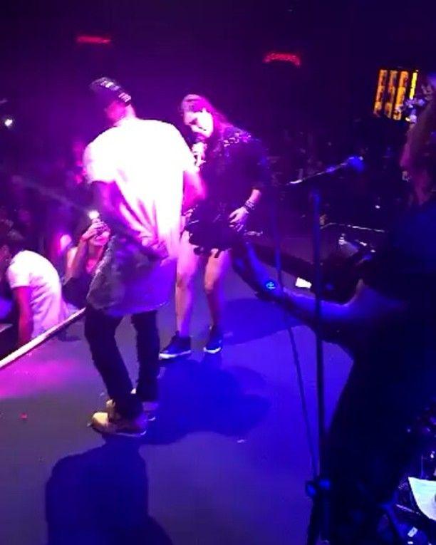 @neymarjr no show da @karenkoficial no Villa Mix SP !! #Neymar #Neymarjr ❤