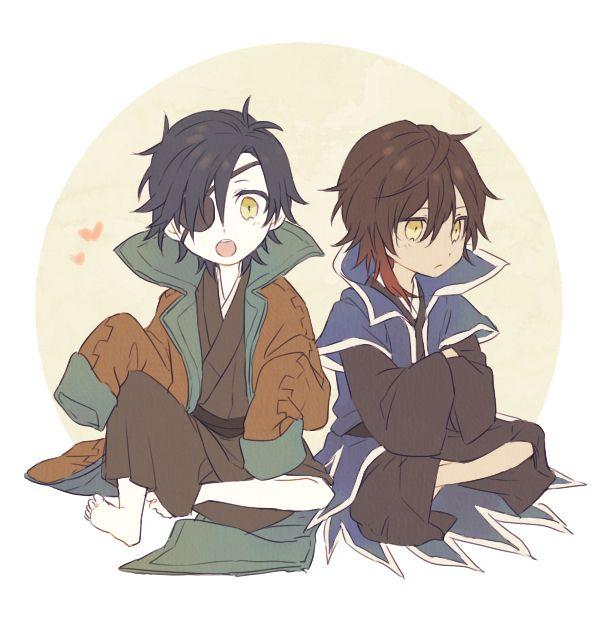 Ookurikara and Mitsutada | Touken Ranbu