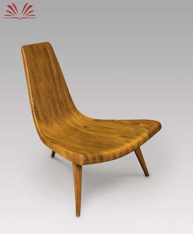 Joaquim Tenreiro - Cadeira Três Pés - 1947
