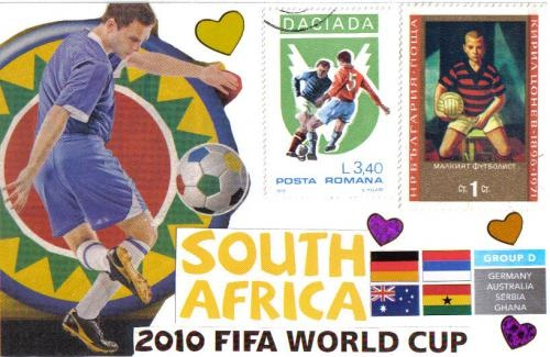 World Cup 2010 postcard